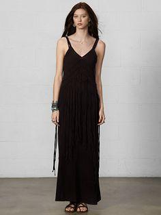 Macramé Maxidress - Maxi Dresses  Dresses - RalphLauren.com