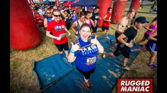 And we're off! Rugged maniac 2015 Austin Texas.