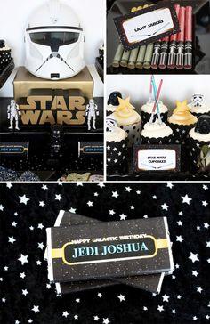 selection-deco-anniversaire-star-wars Turtle Birthday, Star Wars Birthday, Star Wars Party, Anniversaire Star Wars, Cake Design Inspiration, Starwars, Star Wars Jedi, Decoration, Birthday Parties