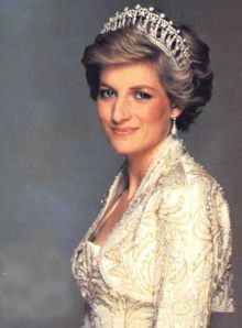 "Lady Diana Frances Spencer, (Diana Frances Mountbatten-Windsor, née Spencer) (July 1, 1961–August 31, 1997) was the first wife of Charles, Prince of Wales. From her marriage in 1981 to her divorce in 1996 she was styled ""Her Royal Highness The Princess of Wales""."