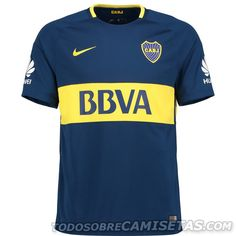 Camiseta Local Nike de Boca Juniors 2017-18