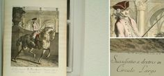 Kupferstich in Farbe von Johann Elias Ridinger