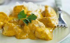 Pollo al curry con Thermomix. Esta receta es una de las carnes más sanas y con menos grasa, perfecta para toda la familia cualqulier dia de la semana
