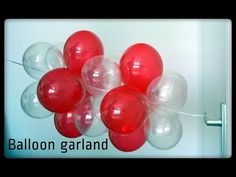 Balloon Garland tutorial - Column - Arch - YouTube