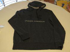 Under Armour ColdGear loose M 1280762 blk hthr pullover jacket hoody hoodie Mens #UnderArmour #hoodie