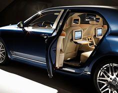 Bentley Mulsanne Executive Interior