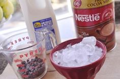 Frozen Hot Chocolate - your homebased mom