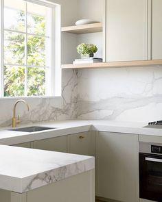 40+ Beautiful U-shaped kitchen designs and ideas Modern Kitchen Design, Modern Interior Design, Kitchen Designs, Home Design, Design Ideas, Minimalist Kitchen, Modern Minimalist, Kitchen Interior, Kitchen Decor