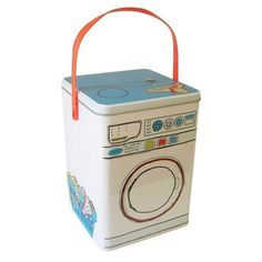 Lata decorativa máquina de lavar - PRONTA ENTREGA