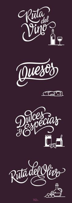 Lettering FNS - Turismo y Cultura on Behance