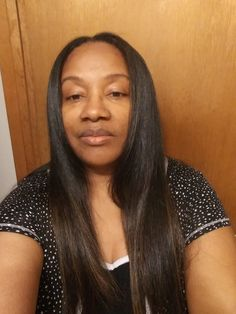 Natural Straight Hair, Straight Hairstyles