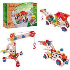 Baufix Starter 10 3in1 (13110300) Manufacturer: Baufix Barcode: 9003150103004 Enarxis Code: 013563 #toys #construction #model #crane