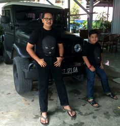 Like Father like son #fj40 #landcruiser #kukar