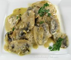 Chicken Breasts with Mushroom Sage Sauce | Recipe | Mushrooms, Chicken ...
