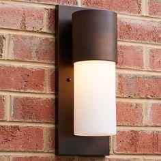 Modern Exterior Lighting, Outdoor Sconce Lighting, Modern Outdoor Wall Lighting, Exterior Wall Light, Outdoor Light Fixtures, Outdoor Wall Lantern, Porch Lighting, Outdoor Walls, Landscape Lighting