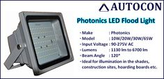 Buy Photonics make LED Flood Lights at Our Online Shopping Store....