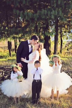 Must-See Flower Girl Photos ❤ See more: http://www.weddingforward.com/flower-girl-photos/ #weddingforward #bride #bridal #wedding