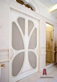 Фото интерьера санузла дома в стиле модерн
