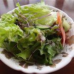 花の妖精 - 料理写真:セットメニュー:サラダセット(ミニサラダ+ドリンク)=550円