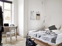 Soft Minimalism with Custom Made Plywood Furniture