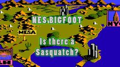 NES Gameplay - Bigfoot - Did you spot the sasquatch in this game?