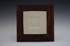 Pottery wall tile by Noël Keag Wall Tiles, Pottery, Stone, Noel, Room Tiles, Ceramica, Rock, Pottery Marks, Stones
