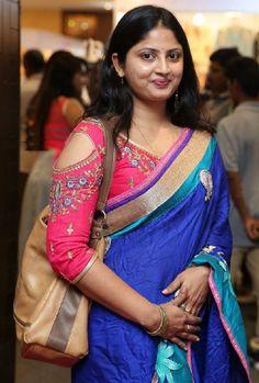 Television Actress Mounika Stills In Transparent Blue Saree Beautiful Girl In India, Beautiful Women Over 40, Most Beautiful Indian Actress, Beautiful Saree, Bollywood Girls, Bollywood Actress Hot, Tamil Actress, Hot Images Of Actress, Actress Photos