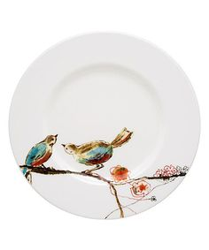 Love this Simply Fine Chirp Plate on #zulily! #zulilyfinds