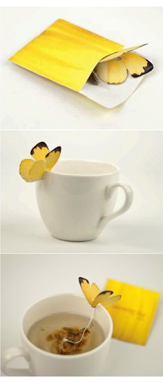 Cool teabags - Butterfly Stroke | 2Modern Blog
