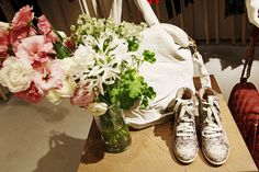 Rebecca Taylor #sneakers. (Photo: Elizabeth Lippman for The New York Times)