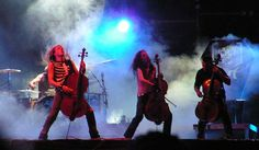Apocalyptica live in Prague Apocalyptica is a Finnish metal band from Helsinki, Finland formed in 1993. The band is composed of classically trained cellists Eicca Toppinen, Paavo Lötjönen, and Perttu Kivilaakso (all three of... #Event #Music #Forum #Karl #n #Tour #Backpackers #Tickets #Entertainment