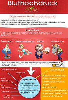Etwa 35 Millionen Menschen leiden in Deutschland an Bluthochdruck! Achtest du auf eine gesunde Ernährung und ausreichend Sport? Mehr zu dem Thema: https://www.vitalingo.com/…/me…/was-tun-gegen-bluthochdruck/