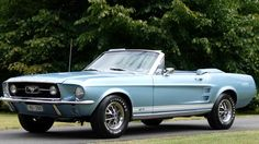The classic 1967 Ford Mustang GT