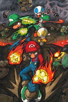 Super Mario Bros. by ArcZero