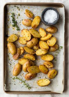 Crispy Herb Potatoes   Fork Knife Swoon