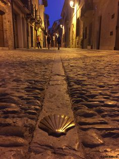 Leaving Estella in the morning #Camino2015 july McG