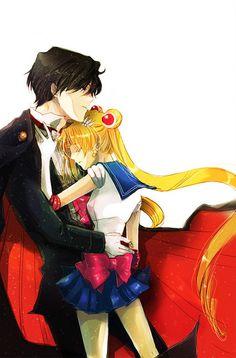 Tuxedo Kamen and Sailor Moon~Her Champion