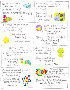 Lunchbox jokes Informations About Lunch Box Love Notes - FREE Printables! - Happy Home Fairy Pin You Notes For Kids Lunches, Kids Meals, Kid Lunches, School Lunch Box, School Snacks, School Days, School Stuff, Happy Home Fairy, Notes Free