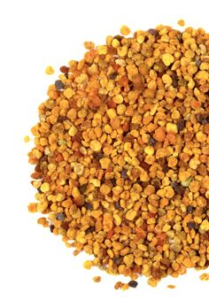 Bee Pollen: These little golden grains are a high-energy whole food, which amazingly contain almost every nutrient the human body needs to survive. They are a very rich source of Quercitin – the naturally occurring anti-histamine, which can be used to help alleviate allergy symtoms.