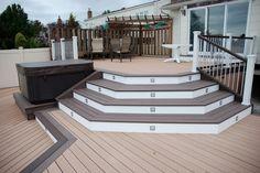 easy care patio flooring , waterproof plastic lumber floor