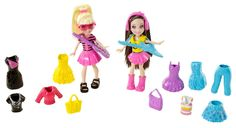 Amazon.com: Polly Pocket Friendship Rockin' Out Fashion Bag Playset: Toys & Games
