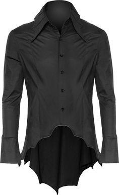 Online shop: gothic bat shirt by Raven SDL Bat Shirt, Gothic Men, Moda Formal, Gothic Outfits, Nu Goth, Alternative Fashion, Pastel Goth, Mens Fashion, Gothic Fashion Men