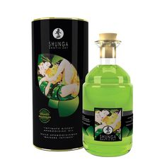 Shunga Intimate Kisses Aphrodisiac Oil Exotic Green tea - buy now - http://paulinaboutique.wtustorebuilder.com/product/SH2100/aphrodisiac-warming-oil-organicagreen-tea