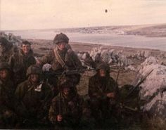 Members of D Company 2 PARA Falklands 1982