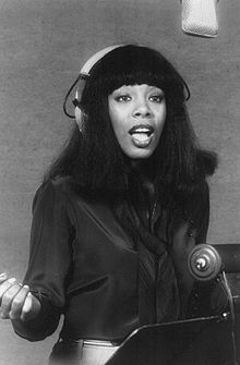 Donna Summer (12/31/48 - 5/17/12)   born LaDonna Adrian Gaines,  American singer and songwriter who gained prominence during the disco era of the late 1970s.