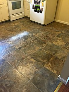 This Is Our Our Floor Groutable Vinyl Tile We Used