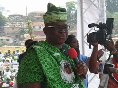 """GOSSIP, GISTS, EVERYTHING UNLIMITED: """"My Enemies Will Be Sick And Die"""" - Fayose As He C..."""