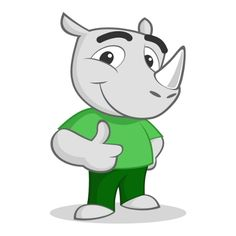 Gary the Rhino is the official brand mascot of Ganah Solutions (www.ganahsol.com). It exudes renewal, strength and energy.