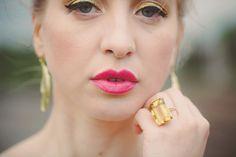 Bold pink #lips | Photography: www.cleanplatepictures.com | Design: http://michelleferrarahandmade.com