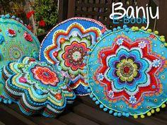 Amazing crochet cushions